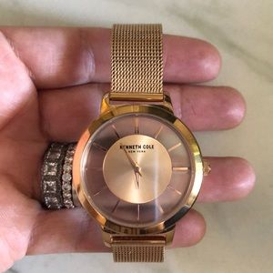 Rose Gold Kenneth Cole Watch